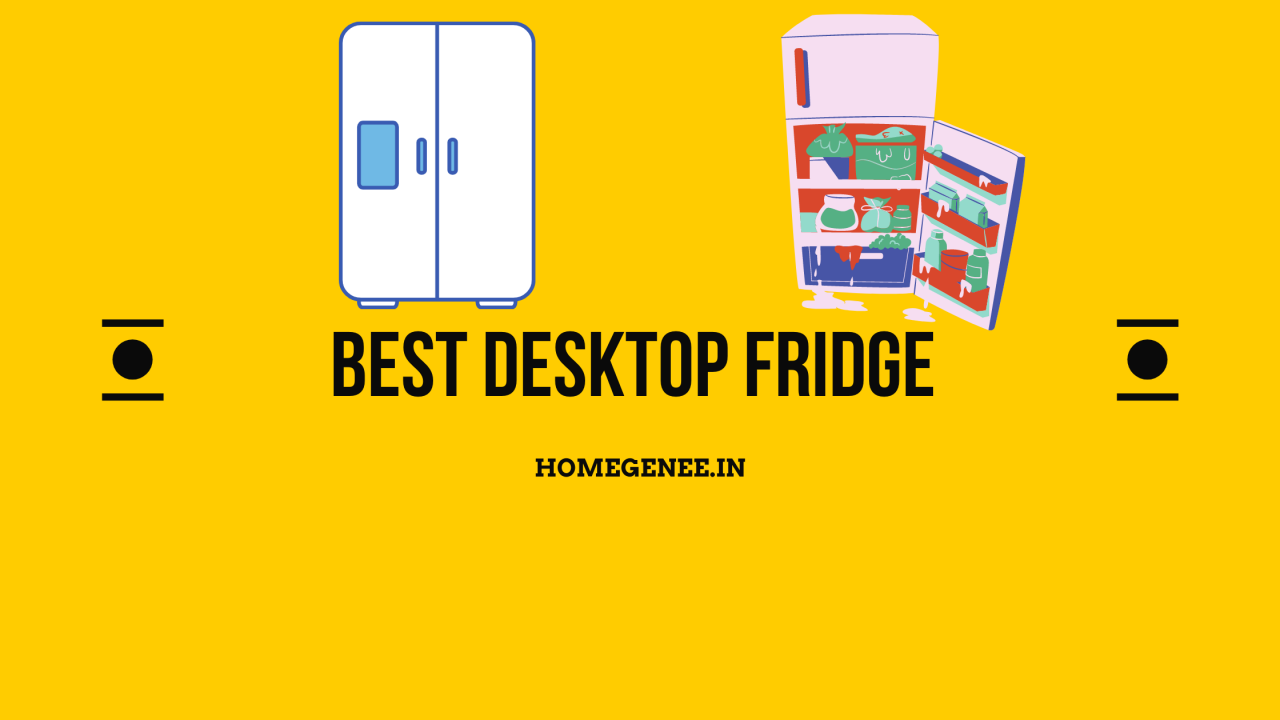 Best Desktop fridge in India