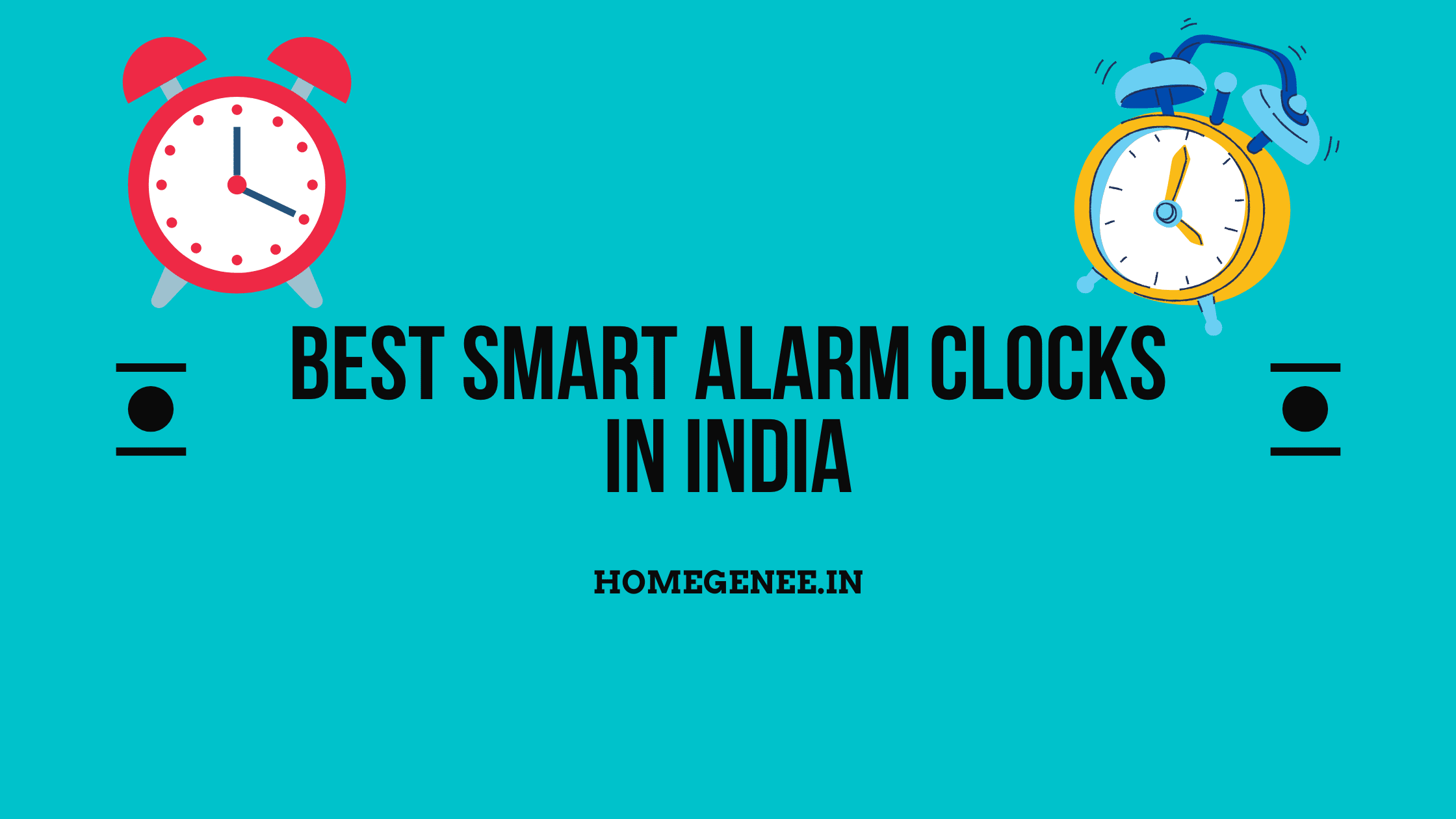 Best Smart Alarm Clocks In India (1)