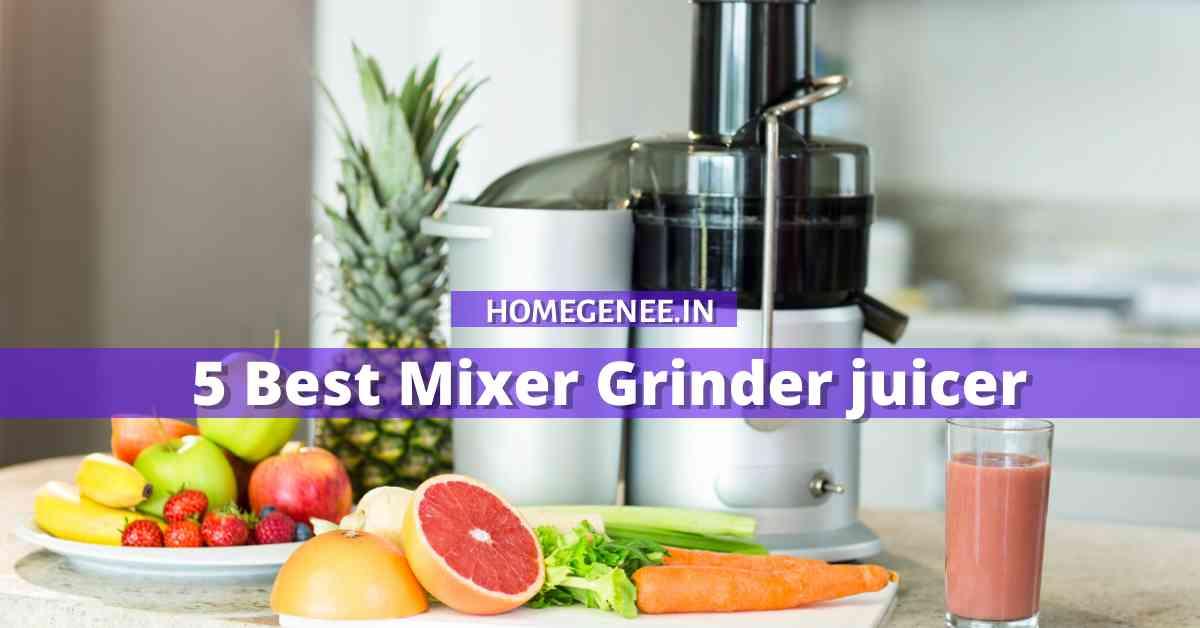 5 Best Mixer Grinder juicer in India 2021